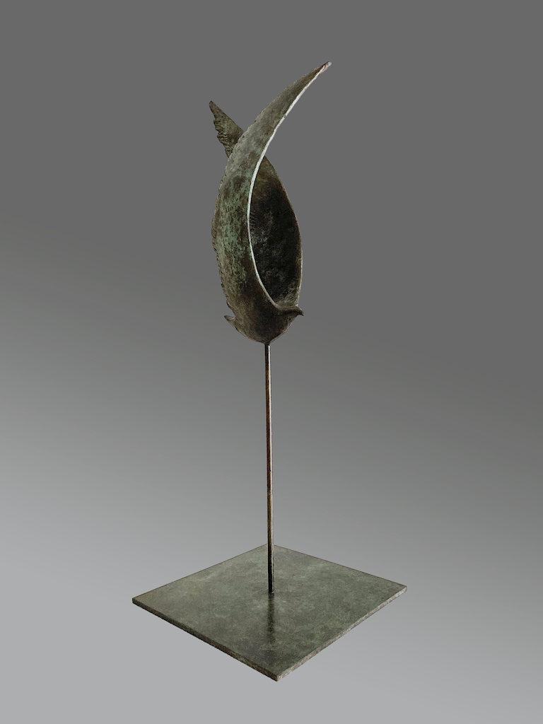 Alcyon II - Bronze - 4/8 - 2015 H.54cm / L.24cm / P.20cm