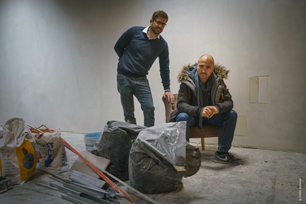Julien - fondateur et Emmanuel