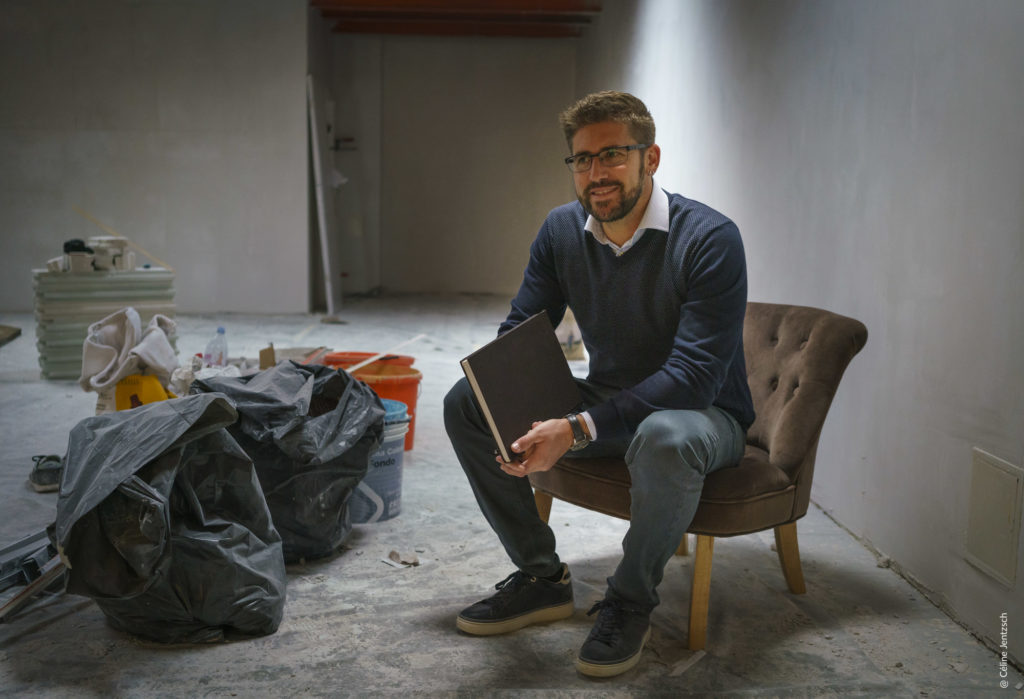 Julien Kellenberger - fondateur de la galerie