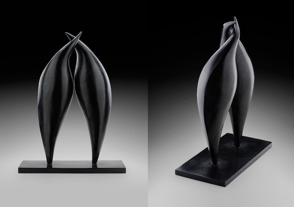 Effleurement - Bronze - 1/8 - 2017 H.54cm / L.40cm / P.20cm ©Philippe-de-Formanoir