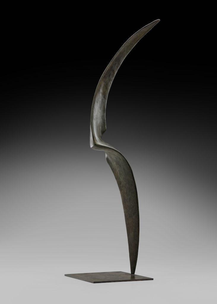 Elan  - Bronze - 2/8 - 2017 H.76cm / L.21cm / P.24cm