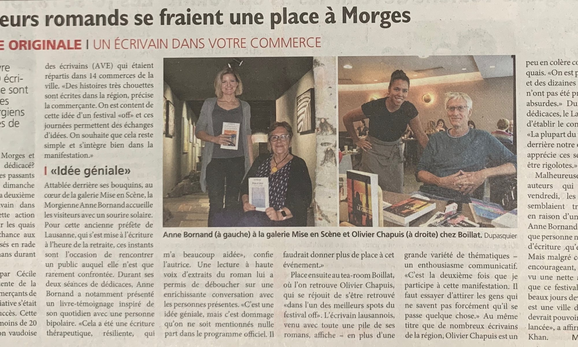 Journal de Morges - septembre 2019