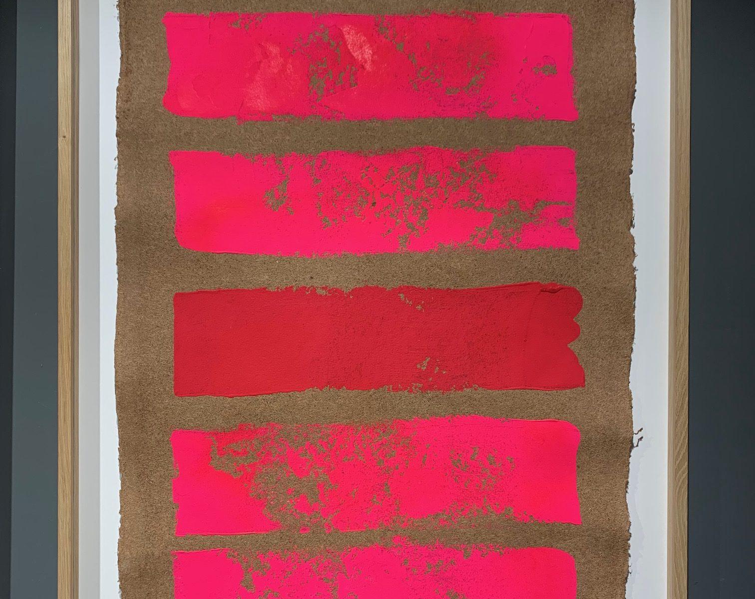 Pour monter au ciel  I - gouache sur papier fait main  - 100 x 72 cmMESGMZM09