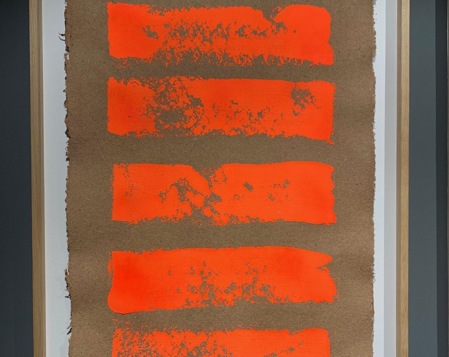 Pour monter au ciel  II - gouache sur papier fait main  - 100 x 72 cmMESGMZM010