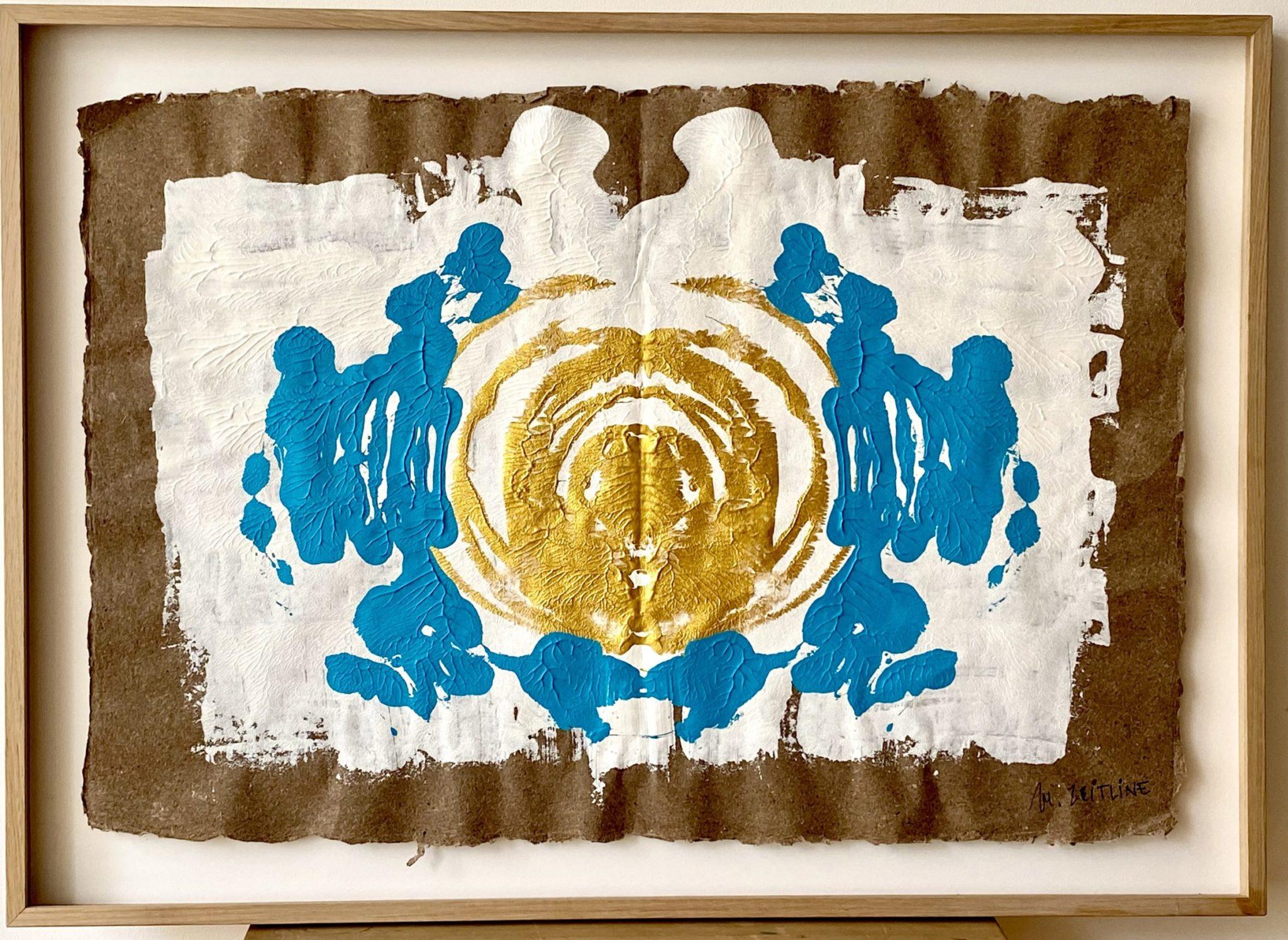 Andromeda - acrylique sur papier - 72 x 100 cmMESGMZM04
