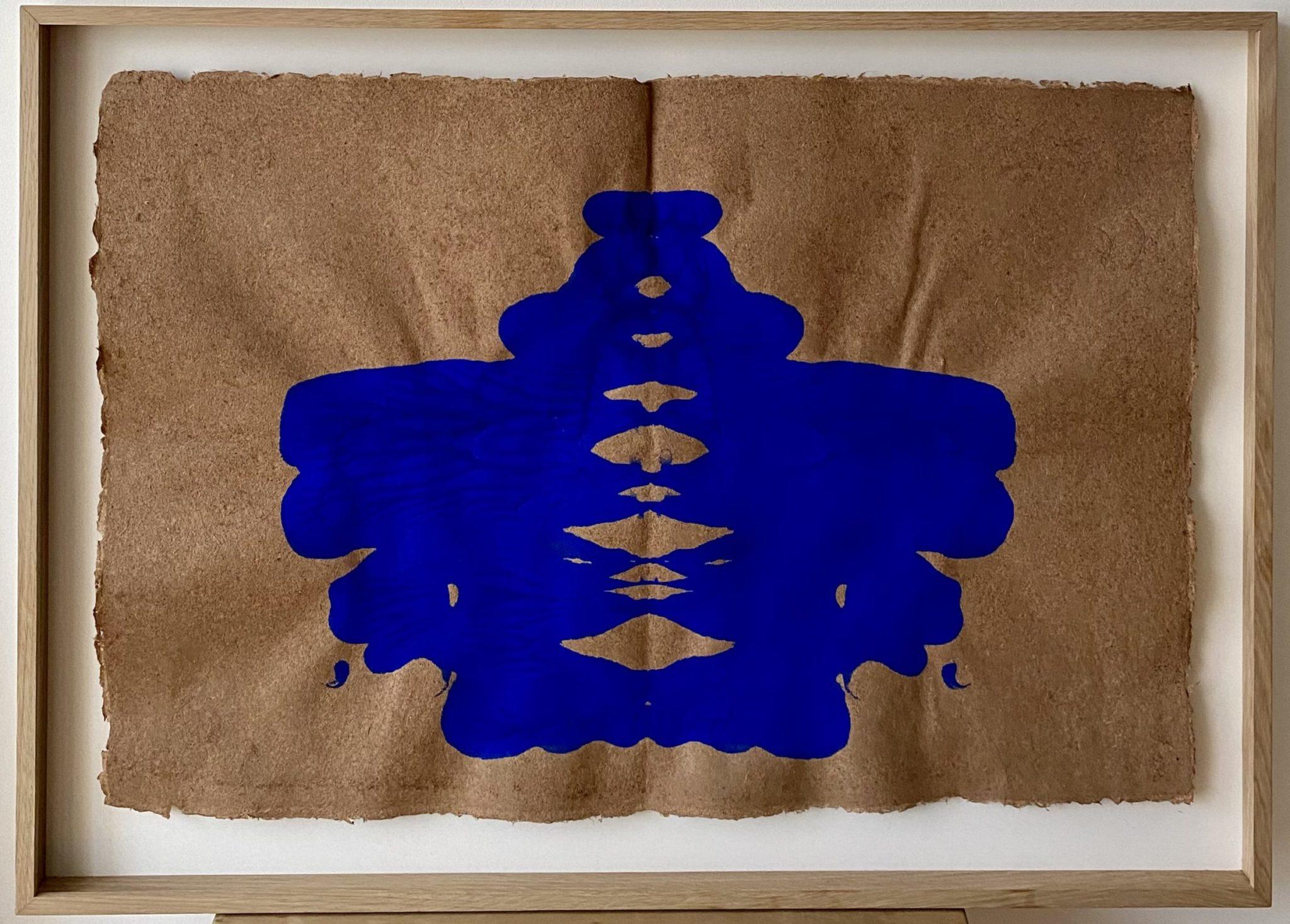 Voyageur du futur I - gouache sur papier - 72 x 100 cm MESGMZM06