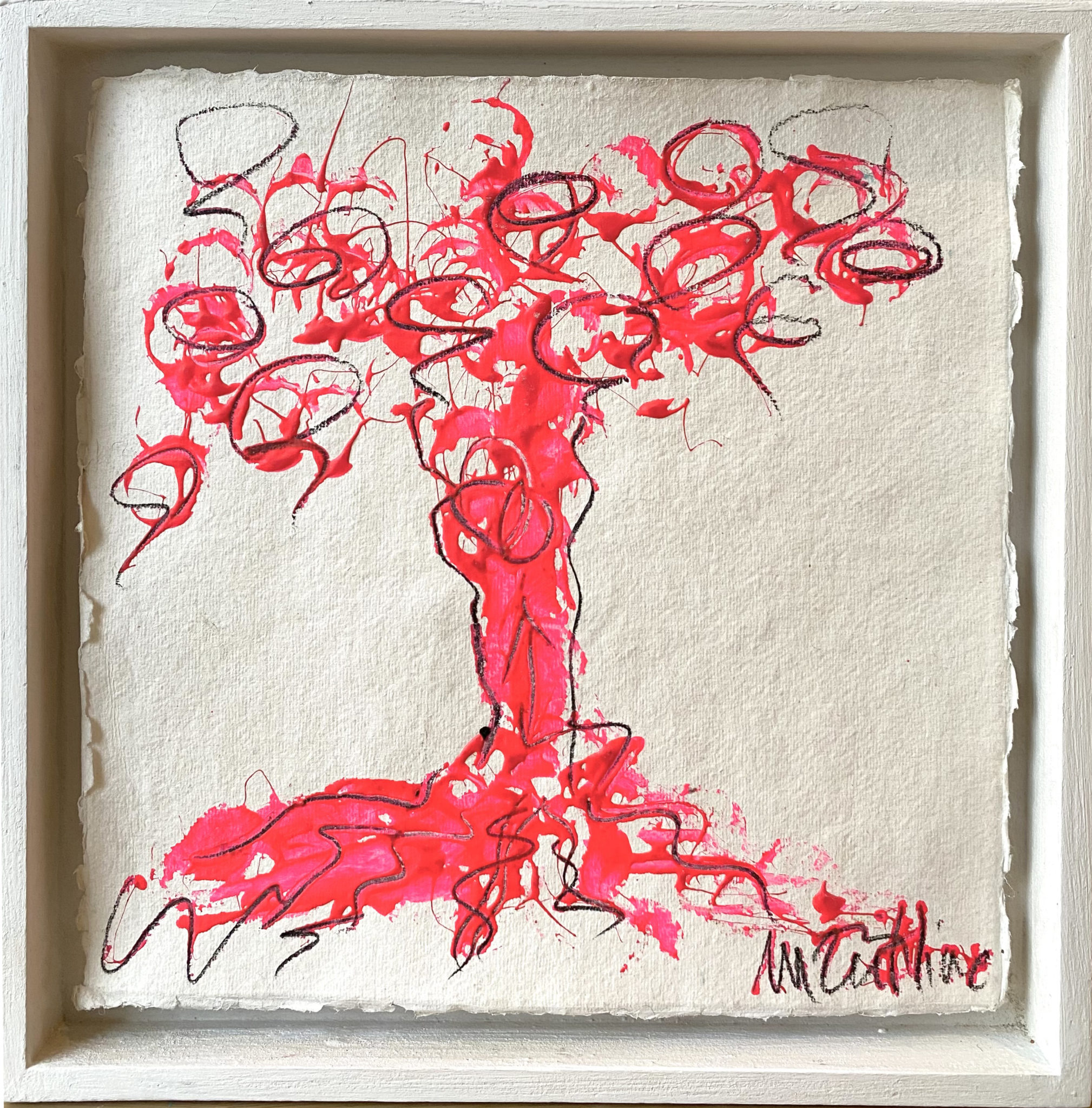 Monica Zeitline - 35 x 35 cm