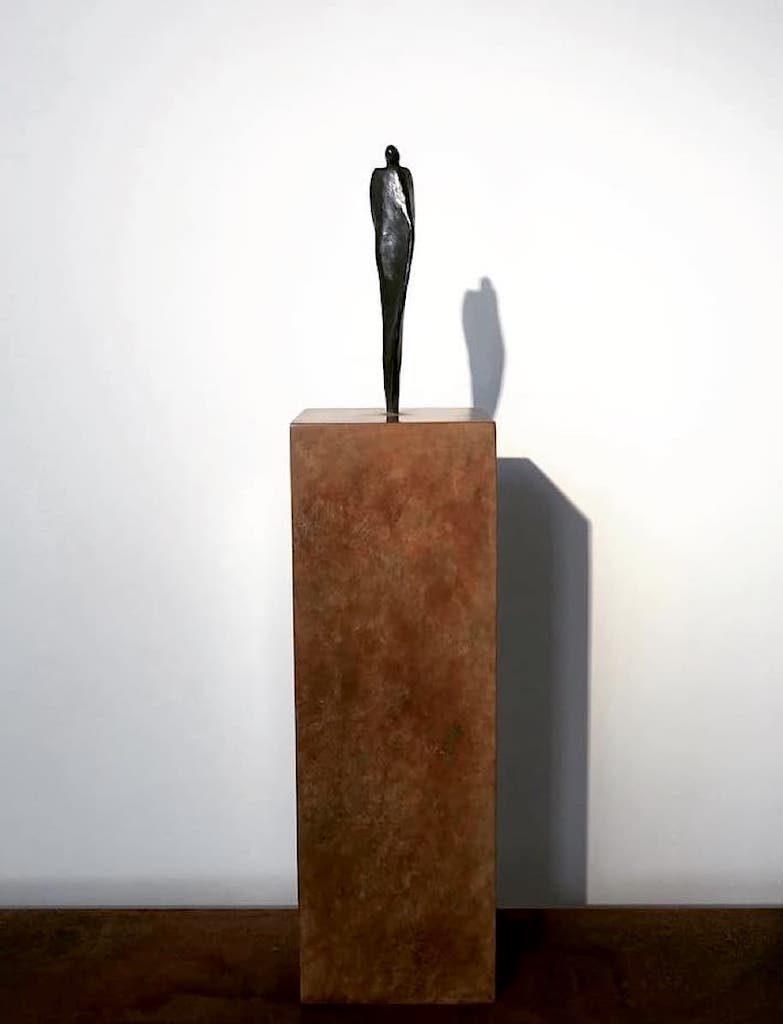 In Fine  - Bronze - 3/8 - 2018 H.45cmL.10cm P.10cm