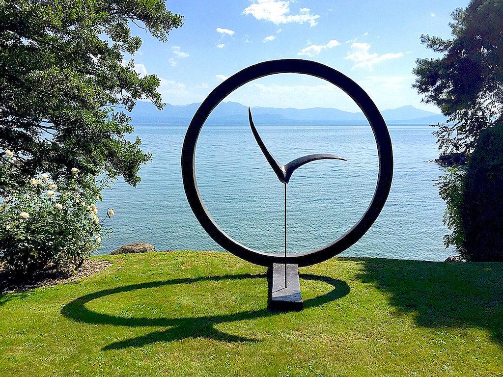 La Grande Envolée (sculpture exposée à MISE EN SCÈNE -YENS) H.250cm / L.250cm / P.170cm