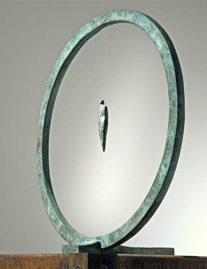 La Légèreté  - Bronze - 5/8 - 2008 H.44cm / L.29cm / P.42cm©jjserol