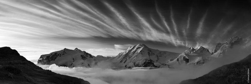 Massif du Mont Rose / Mont Rose Range