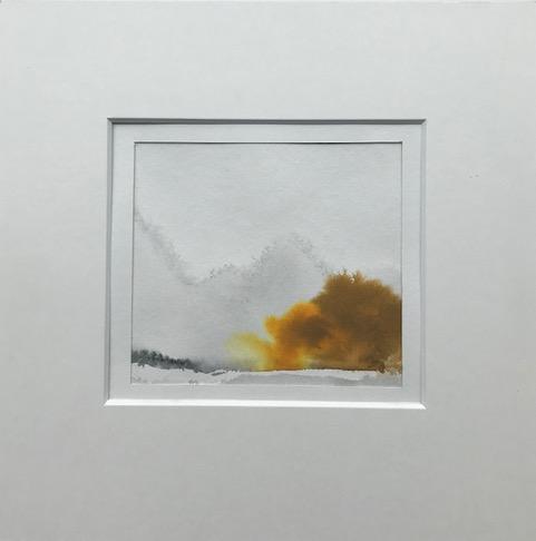 Gouache et aquarelle 2018 - 30 cm x 30 cm