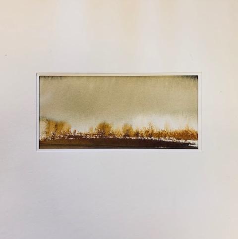 Aquarelle et gouache - 30 cm x 30 cm
